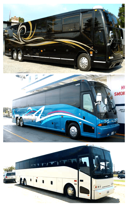 Charter Bus Clearwater FL