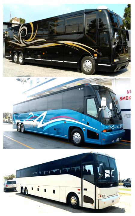 Charter Bus Plantation FL